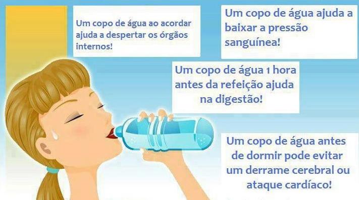 beneficios da agua