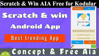 Earning Aia File - Scratch and Win App for Kodular - Technical Arp