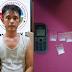 Simpan Sabu di Kamar Mandi, Beri Diciduk Polisi