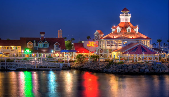Restaurante Parkers' Lighthouse em Long Beach