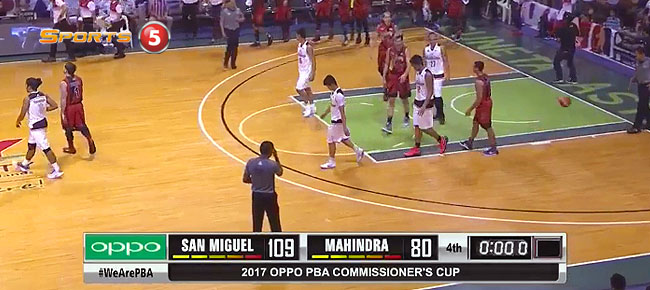 San Miguel def. Mahindra, 109-80 (REPLAY VIDEO) April 19