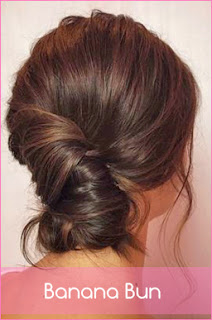 how to make banana bun hairstyle