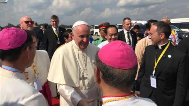 Papa señala al jefe militar birmano su responsabilidad… 