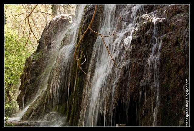 Cascada Trinidad Monasterio de Piedra