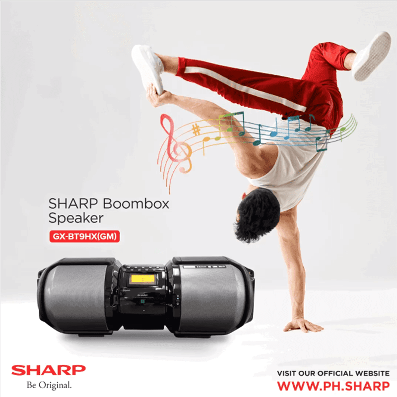 Sharp Boombox Speaker GX-BT9HX(GM)