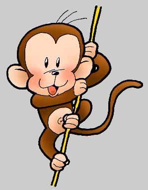 Monkey Cartoon Animal Free Clipart | Free Microsoft Clipart