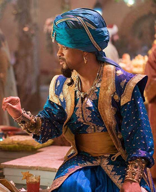 Gênio roupa do filme Aladdin