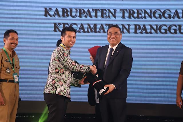 Kecamatan Panggul Trenggalek Raih Penghargaan Unit Kerja Berpredikat WBK dari Kemenpan-RB