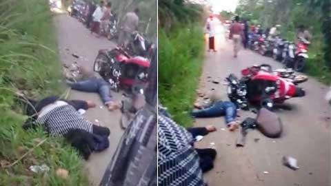 Kecelakaan Lalu Lintas di Dharmasraya