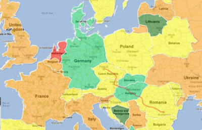harta-europei-bucuresti-budapesta-viena-praga