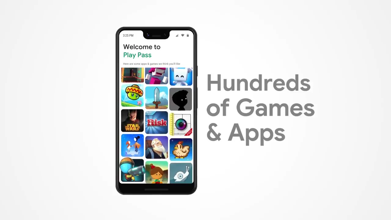 Google Play Pass allows access to hundreds of games and apps free of ads and in-app purchases at a price of USD 4.99 per month