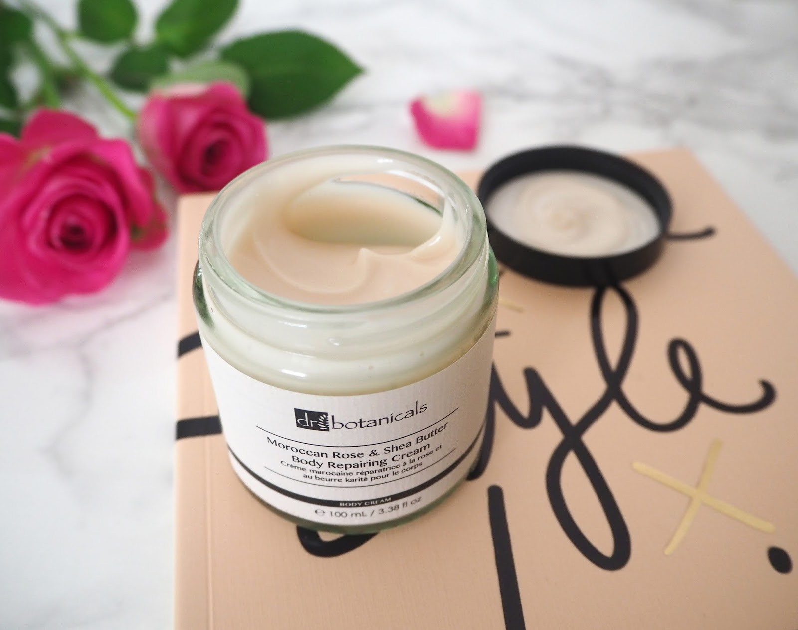 Dr Botanicals Moroccan Rose & Shea Butter Body Cream, Katie Kirk Loves, Beauty Blogger, Dr Botanicals Skincare, UK Blogger, Skincare Review, Moroccan Rose, Fragrance