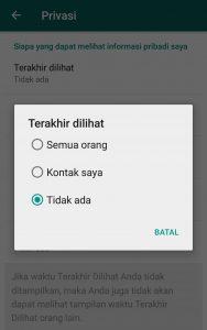 Cara Menyembunyikan Status Online Whatsapp Agar Tidak Terlihat Oleh Kontak Kamu