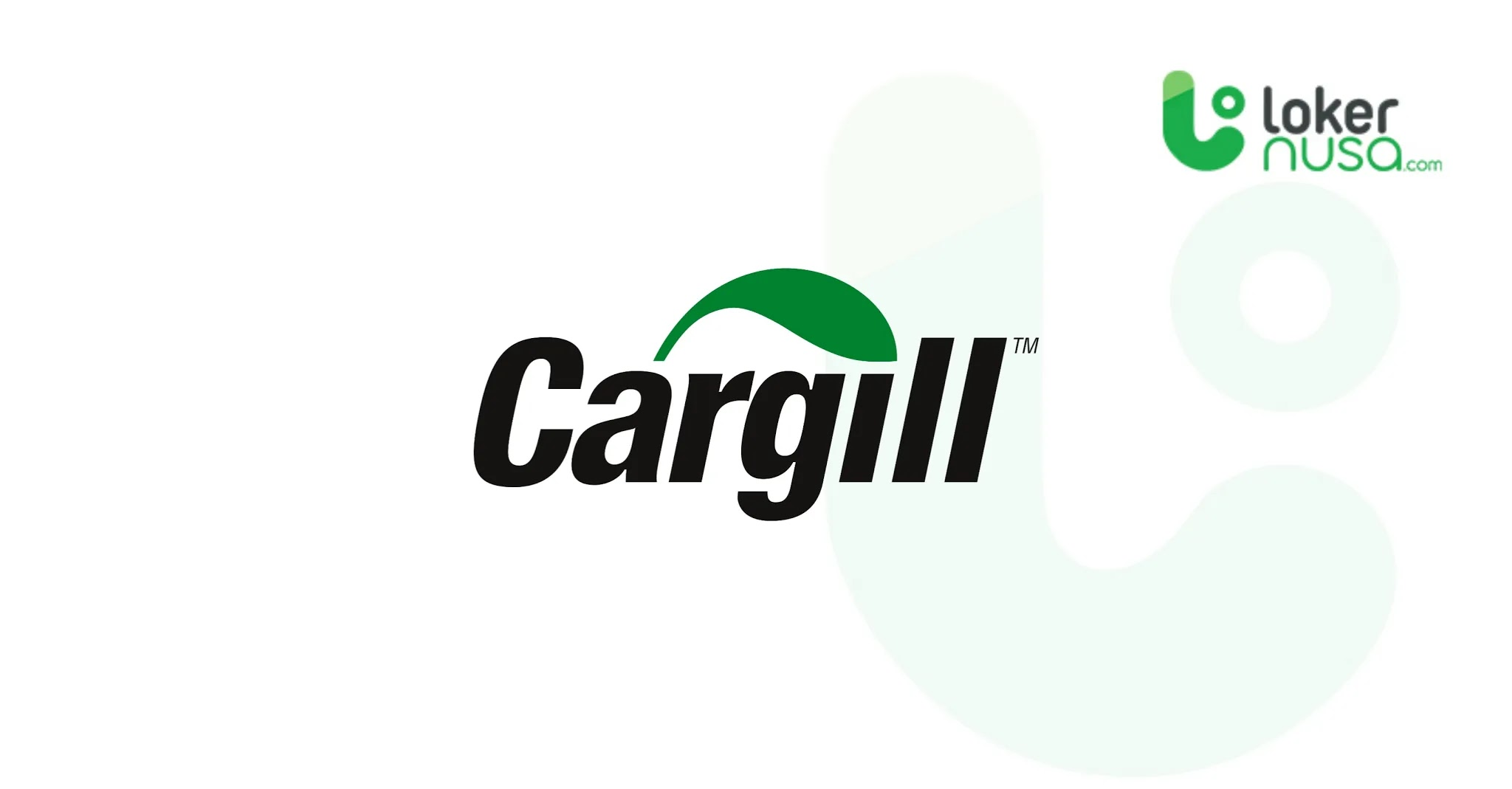 Lowongan Kerja Juli 2021 Cargill