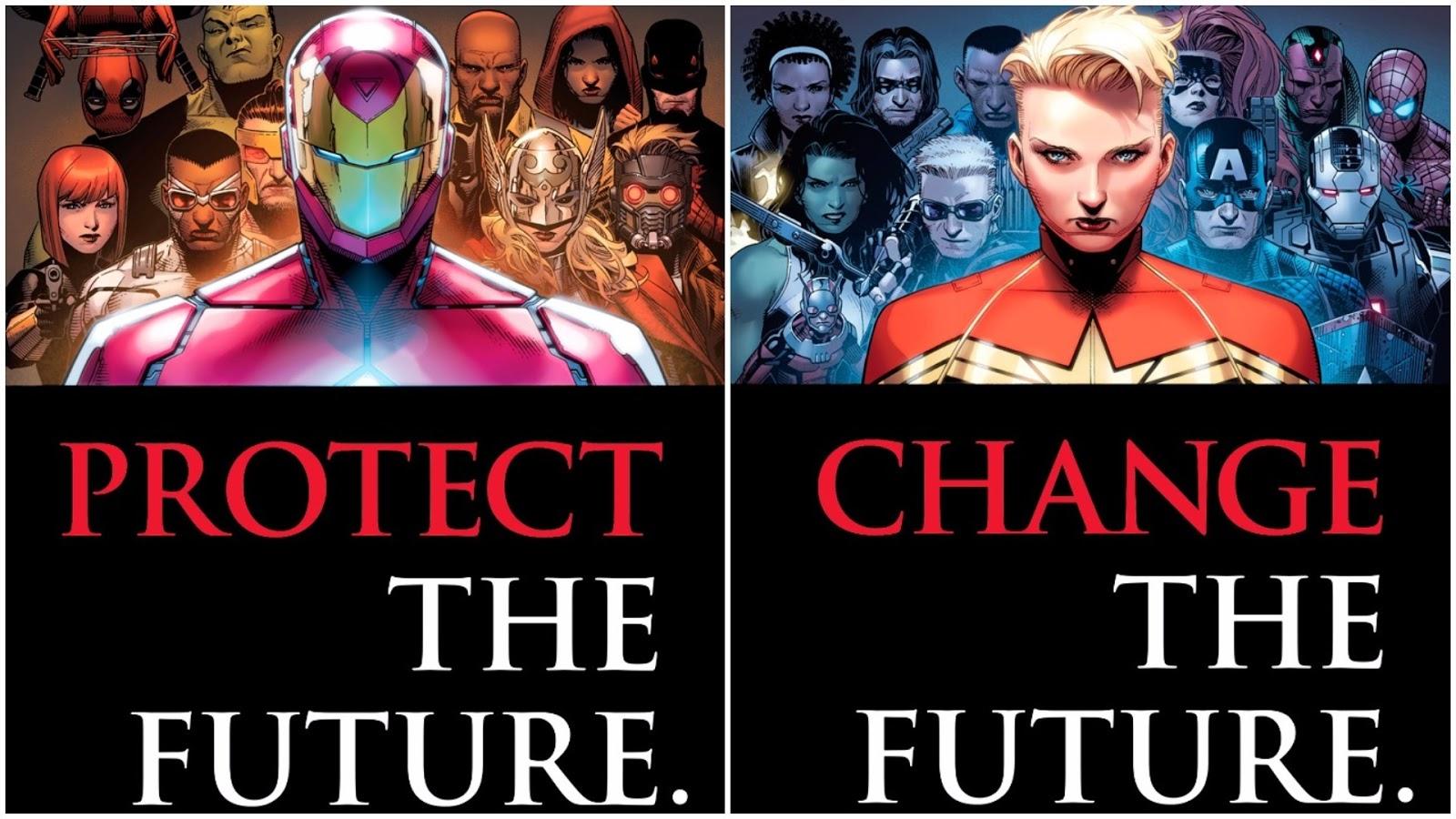 marvel civil war 2: iron man vs captain marvel