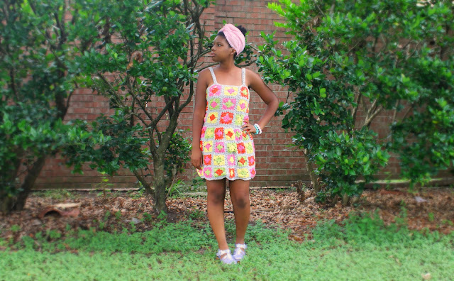Dream Crochet Project Spotlight // Dream Granny Squared Crochet Dress.