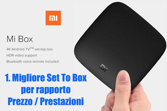 xiaomi mi box 3 international miglior set tob box rapporto prezzo prestazioni