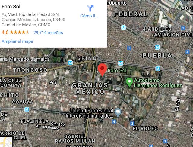 Foro Sol Mapa Google Maps Como llegar Traza tu ruta rapido