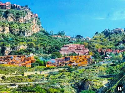 Landscape view, driving | Sicily, Italy | wayamaya