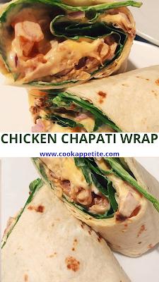 Chicken Chapati Wrap