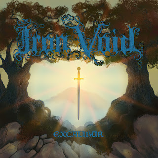 "Iron Void - ""The Grail Quest"" (audio) from the album ""Excalibur"""