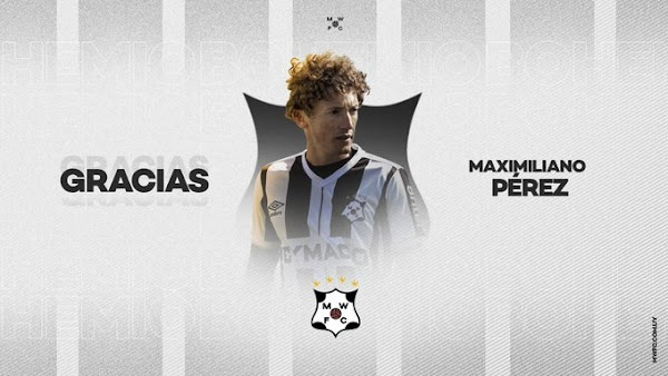 Oficial: Montevideo Wanderers, rescinde Maximiliano Pérez