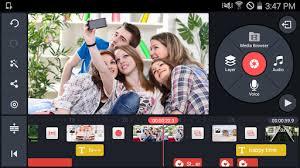 ဖုန္းမွာတင္ Video edit ေတြျပဳလုပ္ႏိုင္တဲ့ - KineMaster – Pro Video Editor v3.5.0 Apk