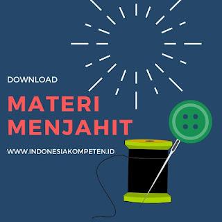 Materi Menjahit C.141110.002.02 MEMBUAT GRADING POLA SECARA MANUAL