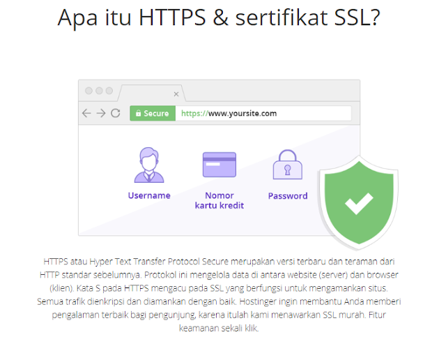 SSL di Hostinger