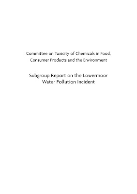 [EBOOK] Committee on Toxicity of Chemicals in Food, Consumer Products and the Environment, Subgroup Report on the Lowermoor, Water Pollution Incident