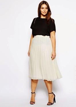 e95aca490 Qué tipos de faldas usar si soy gordita?