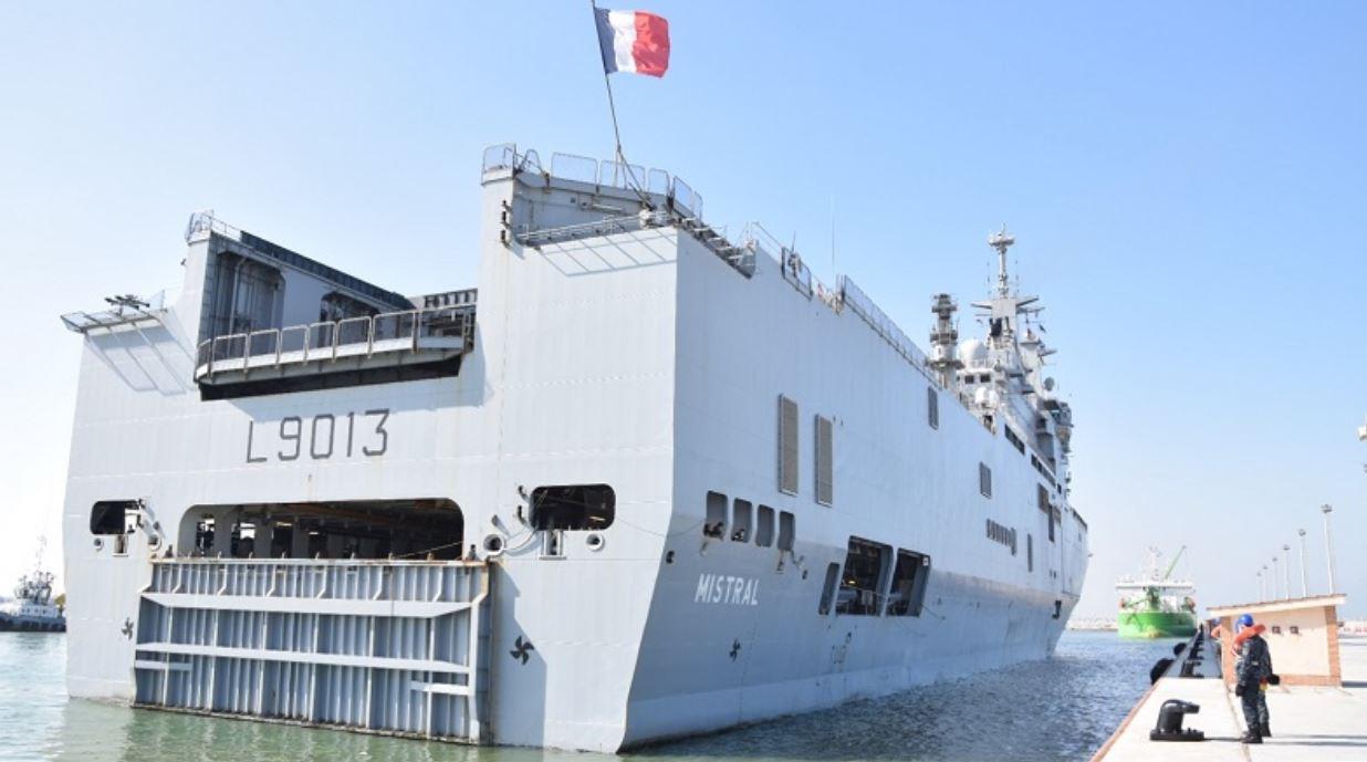 """انطلاق فعاليات التدريب البحري المشترك المصري الفرنسي """"كليوباترا 2021"""""""