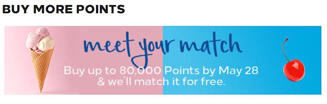 2019最新~Hilton Buy Points希爾頓買分促銷~ 最高可享100%Bonus(5/29前)