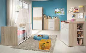 Dormitorio bebé paredes azules