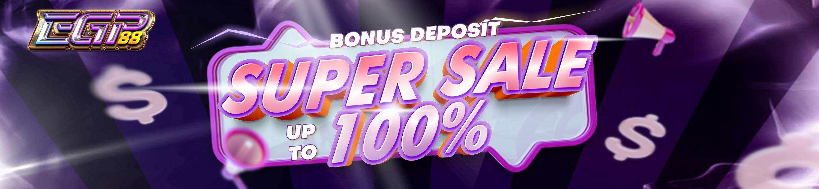 Super Sale 100%