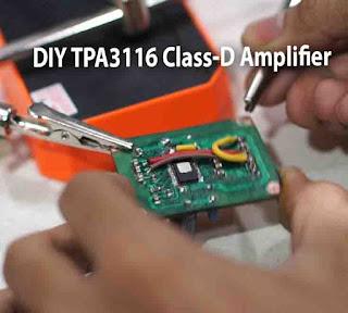 TPA3116D2 DIY Audio Class-D Amplifier