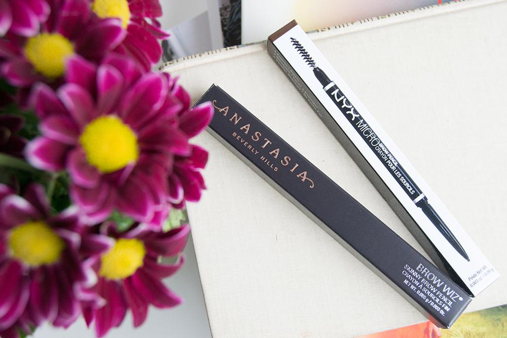 Lápices de cejas: Anastacia Brow Wiz vs NYX