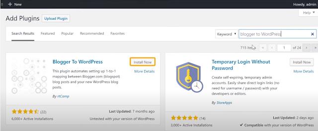 Blogspot to WordPress Setting Up Redirection