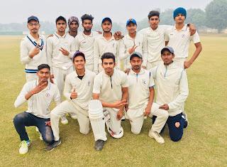 फरीदाबाद  क्रिकेट अकादमी  ने अचीवर्स  क्रिकेट अकादमी को 8 विकेट से हराया