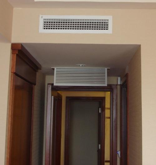 Miệng gió 2 lớp thiết kế trong nhà