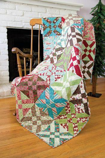 Anita's Arrowhead Quilt Free Pattern