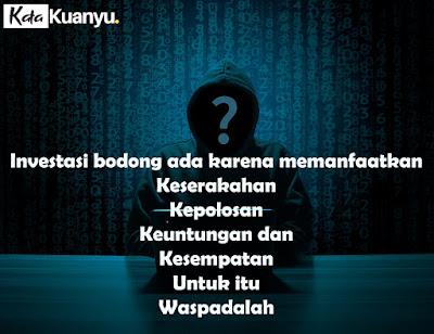 cara investasi bodong menjalankan aksinya di Indonesia