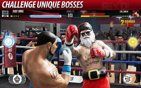 Real Boxing 2 ROCKY 1.10.1 Apk Mod + Data لأجهزة الأندرويد
