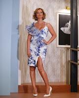 Cristina Ferreira de vestido