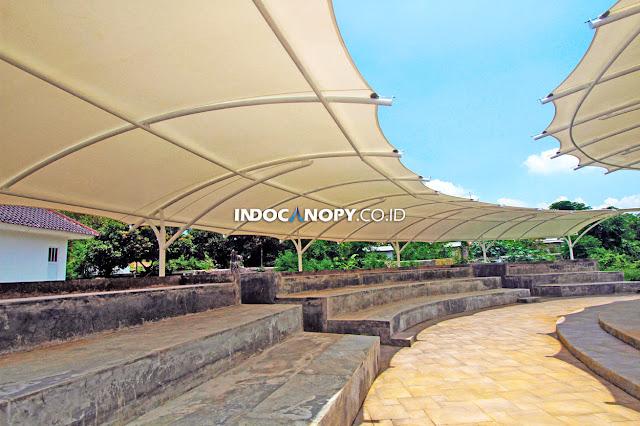 canopy membrane tribun penonton