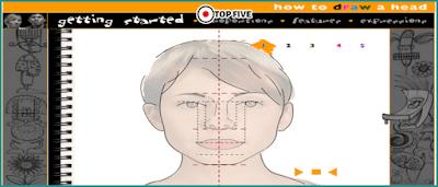 تعليم رسم الوجه