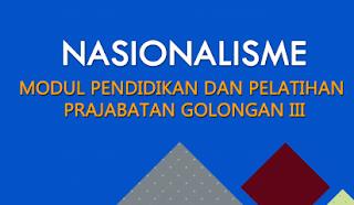 Modul Latsar cpns nasionalisme