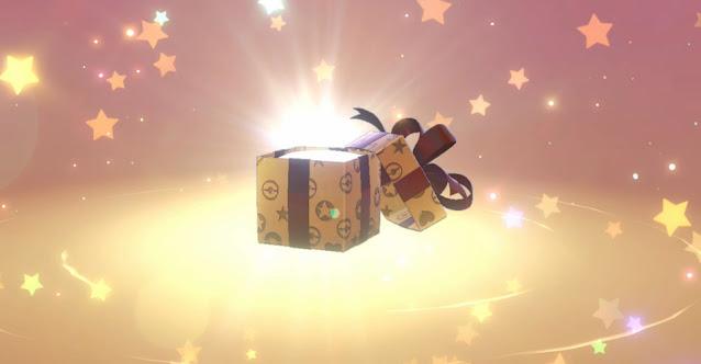 Pokémon Sword/Shield Mystery Gift