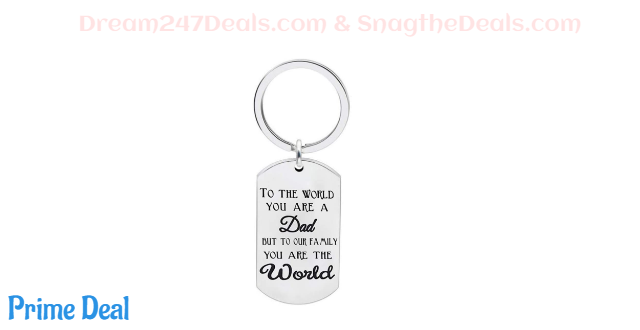 50%off Father Keychain Gift