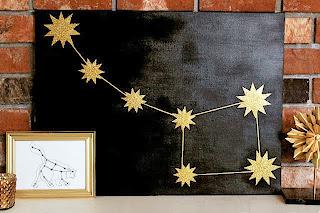 Yıldızlardan Pano Yapımı